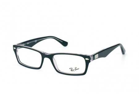 Ray-Ban 0RX5206 2034 TOP BLACK ON TRANSPARENT