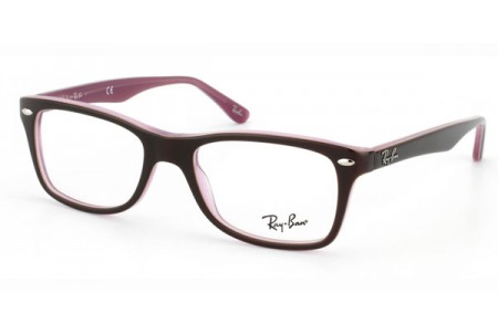 Ray-Ban 0RX5228 2126 BROWN/PINK