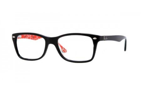 Ray-Ban 0RX5228 2479 TOP BLACK ON TEXTURE RED