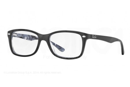 Ray-Ban 0RX5228 5405 TOP MAT BLACK ON TEX CAMUFLAGE