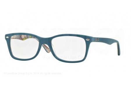 Ray-Ban 0RX5228 5407 TOP MAT BLUE ON TEX CAMUFLAGE