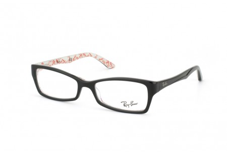 Ray-Ban 0RX5234 5014 TOP BLACK ON TEXTURE WHITE
