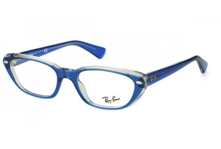 Ray-Ban 0RX5242 5111 TOP LIGHT BLUE ON TRANSP