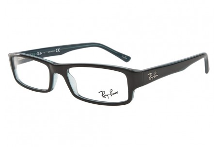Ray-Ban 0RX5246 5092 BLACK/GREY/TURQUOISE