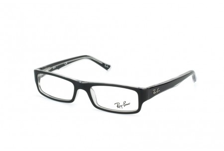 Ray-Ban 0RX5246 2034 TOP BLACK ON TRANSPARENT