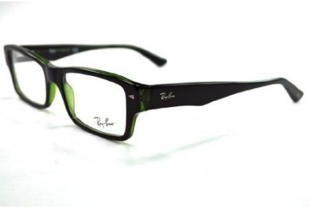 Ray-Ban 0RX5254 2383 TOP HAVANA ON GREEN TRANSP.