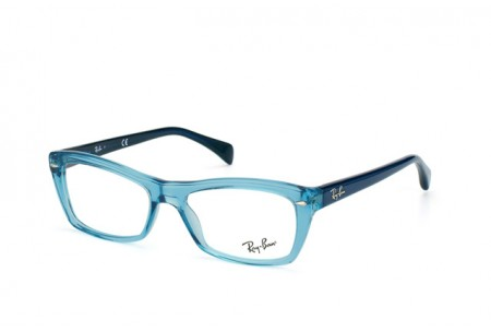 Ray-Ban 0RX5255 5235 SHINY TRASPARENT BLUE