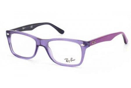 Ray-Ban 0RX5255 5230 SHINY TRASPARENT VIOLET