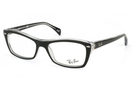 Ray-Ban 0RX5255 2034 TOP BLACK ON TRANSPARENT