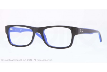 Ray-Ban 0RX5268 5179 TOP BLACK ON BLUE