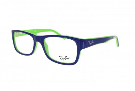 Ray-Ban 0RX5268 5182 TOP BLUE ON GREEN