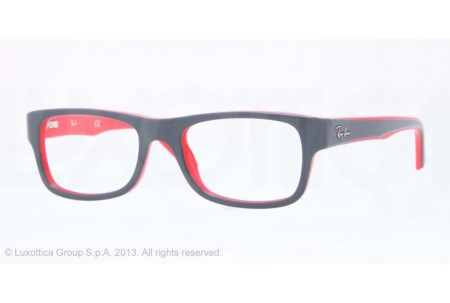 Ray-Ban 0RX5268 5180 TOP GREY ON RED