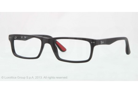 Ray-Ban 0RX5277 2077 SANDBLASTED BLACK