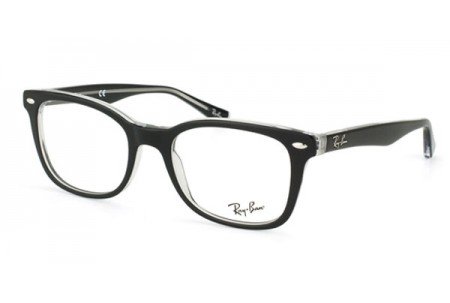 Ray-Ban 0RX5285 2034 TOP BLACK ON TRANSPARENT