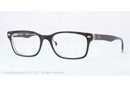 Ray-Ban 0RX5286 2034 TOP BLACK ON TRANSPARENT