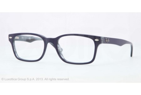 Ray-Ban 0RX5286 5153 TOP BLUE ON HORN GREY