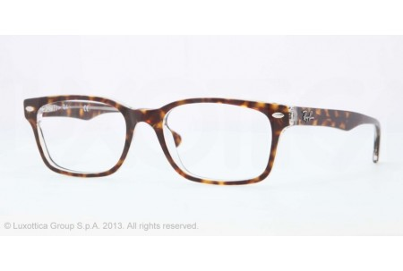 Ray-Ban 0RX5286 5082 TOP HAVANA ON TRANSPARENT