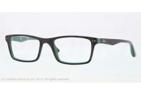 Ray-Ban 0RX5288 5138 TOP BLACK ON GREEN