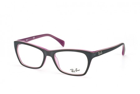Ray-Ban 0RX5298 5386 TOP MATTE BROWN ON OPAL PINK