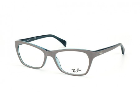 Ray-Ban 0RX5298 5389 TOP MATTE GREY ON TRASP OIL