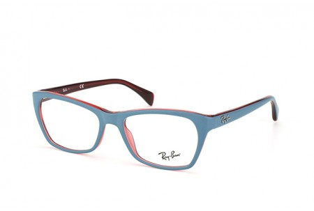 Ray-Ban 0RX5298 5388 TOP MATTE OIL ON TRASP RED