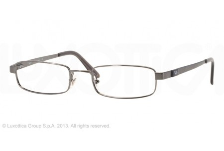 Ray-Ban 0RX6076 2553 BRUSHED GUNMETAL