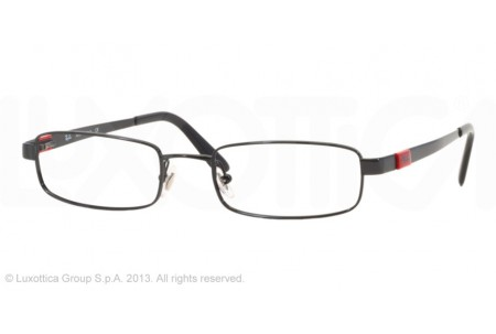 Ray-Ban 0RX6076 2509 SHINY BLACK