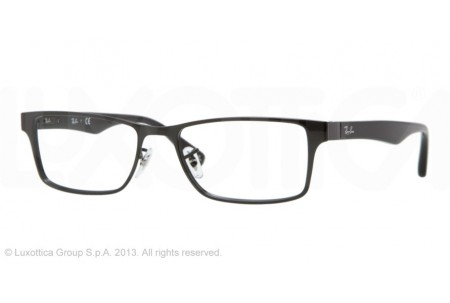 Ray-Ban 0RX6238 2509 SHINY BLACK