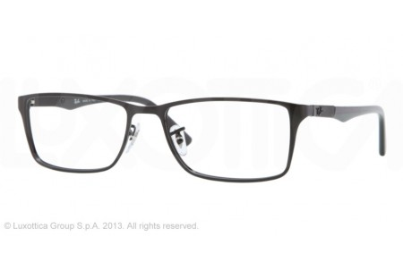 Ray-Ban 0RX6248 2509 SHINY BLACK
