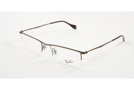 Ray-Ban 0RX6291 2786 SHINY BROWN