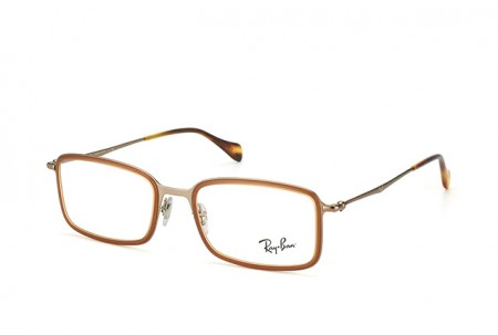 Ray-Ban 0RX6298 2811 DEMIGLOS BROWN