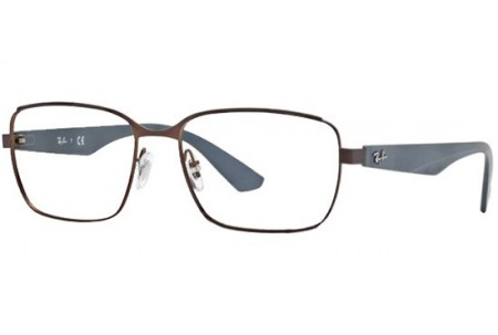 Ray-Ban 0RX6308 2826 MATTE BROWN