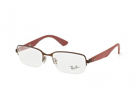Ray-Ban 0RX6311 2758 MATTE BROWN