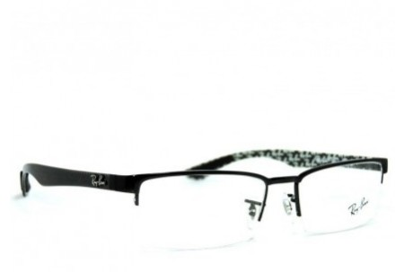 Ray-Ban 0RX6318 2509 SHINY BLACK