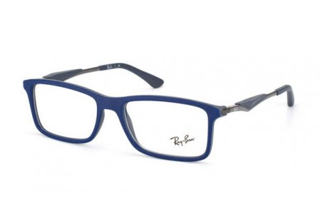 Ray-Ban 0RX7023 5260 TOP BLUE ON MATTE DARK GREY