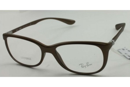 Ray-Ban 0RX7024 5205 MATTE BROWN