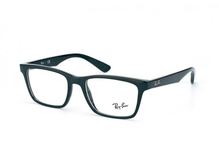 Ray-Ban 0RX7025 2000 SHINY BLACK