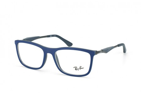 Ray-Ban 0RX7029 5260 TOP BLUE ON MATTE DARK GREY