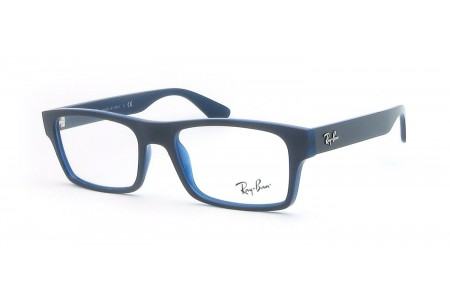 Ray-Ban 0RX7030 5397 TOP GREY ON DARK BLUE