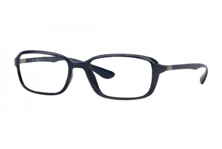 Ray-Ban 0RX7037 5431 SHINY DARK BLUE