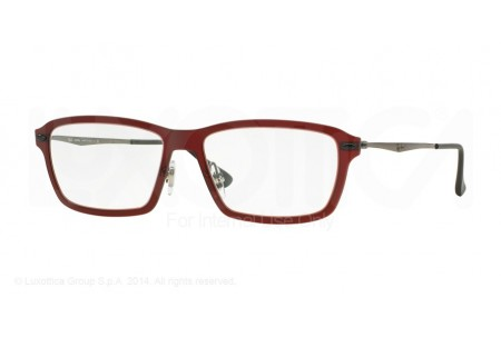 Ray-Ban 0RX7038 5456 DARK MATTE RED