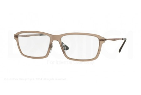 Ray-Ban 0RX7038 5457 LIGHT MATTE BROWN
