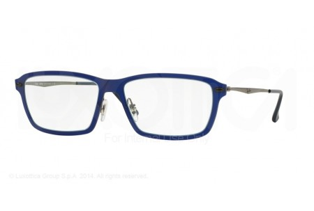 Ray-Ban 0RX7038 5451 MATTE DARK BLUE