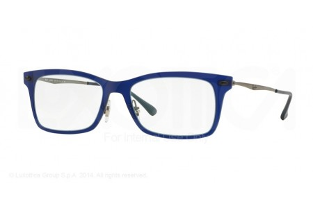 Ray-Ban 0RX7039 5451 DARK MATTE BLUE