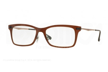 Ray-Ban 0RX7039 5450 DARK MATTE BROWN