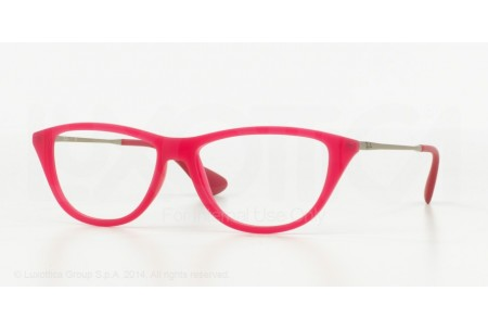 Ray-Ban 0RX7042 5471 RUBBER DEMO GLOSS FUXIA