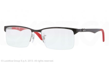 Ray-Ban 0RX8411 2509 SHINY BLACK