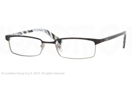 Ray-Ban 0RX8633 1017 SHINY BLACK