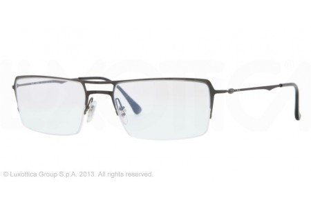 Ray-Ban 0RX8713 1128 BRUSCHED DARK GUNMETAL