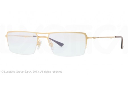 Ray-Ban 0RX8713 1158 BRUSHED GOLD
